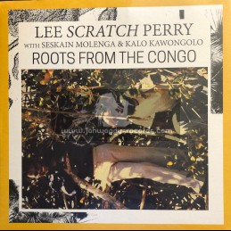 Roots Vibration-Lp-Roots From The Congo / Lee Scratch Perry With Seskain Molenga & Kalo Kawongolo