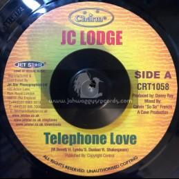 "CHARM-7""-TELEPHONE LOVE / JC LODGE"