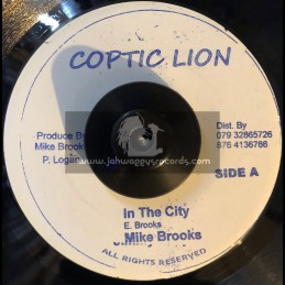 """Coptic Lion-7""""-In The City / Mike Brooks"""