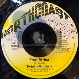 """Northcoast-7""""-Free Africa / Twinkle Brothers"""