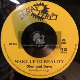 "Gay Feet-7""-Wake Up To Reality / Glen And Dave + Musical Pressure / Jojo Bennett"