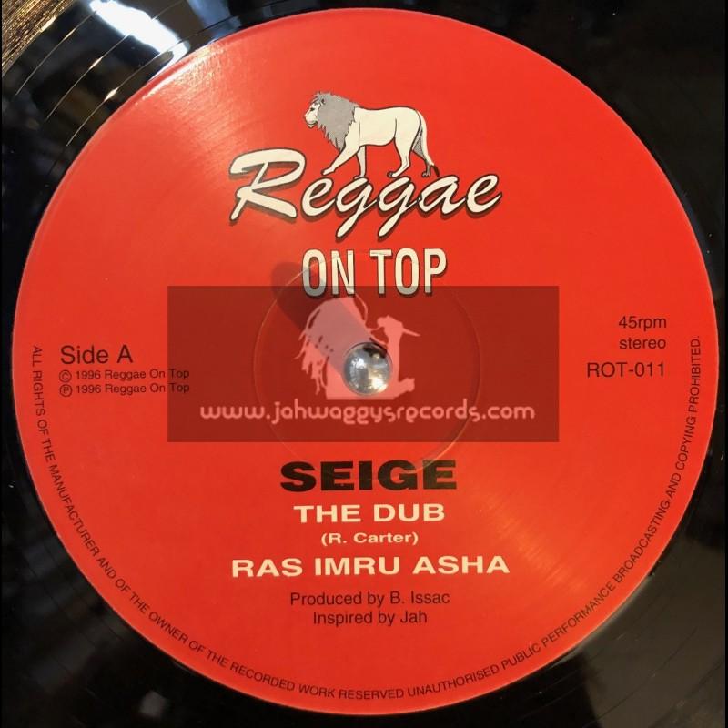 "REGGAE ON TOP-12""-SEIGE + DOWN IN BOSNIA / RAS IMRU ASHA"