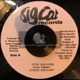 "Big Cat-7""-Turn Him Over / Junior Delgado"