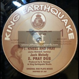 "King Earthquake-12""-Kneel And Pray + Terrible / Jacko Melody"
