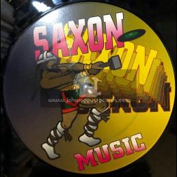 "Saxon Records-12""-Tell Me Who / Lloyd Brown + Rocky Road / Dennis Brown"