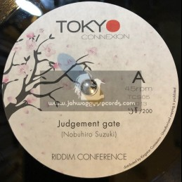 "Tokyo Connexion-7""-Judgement Gate / Riddim Conference (200 Press)"