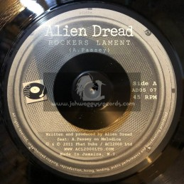 """Acl 2000 (Strictly Roots)-7""""-Rockers Lament + Step Away / Alien Dread"""
