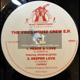 """Vibes House-12""""-Peace And Love / Dezzi D"""
