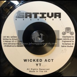 Wicked Act- YT -Sativa Records
