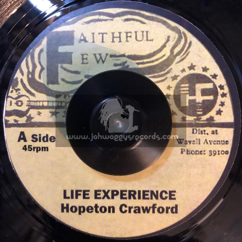"""Faithful Few-7""""-Life Experience / Hopeton Crawford"""