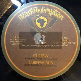 "Black Redemption-10""-Curfew / Admiral Tibet + Protection / Brother Culture"