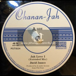 "Chanan Jah-10""-Jah Love I / David Isaacs + It De Hay / Freddie McKay"