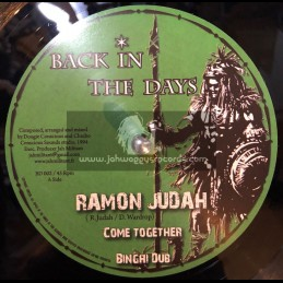 """Back In The Day-10""""-Come Together / Ramon Judah (Conscious Sounds)"""