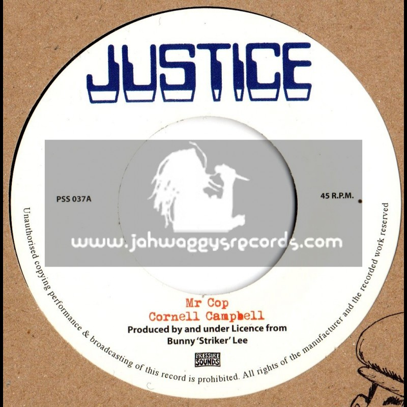 "Justice-7""-Mr Cop / Cornell campbell"