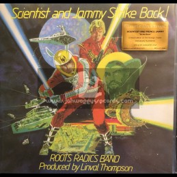 Music On Vinyl-Lp-Scientist And Jammy Strike Back / Roots Radics Band - Limited Edition, Numbered, Orange Vinyl, 180 Gram