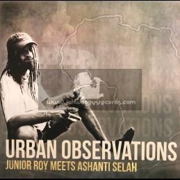 Ashanti Selah Music-Lp-Urban Observations / Junior Roy Meets Ashanti Selah