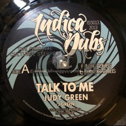 """Indica Dubs-7""""-Talk To Me / Judy Green"""
