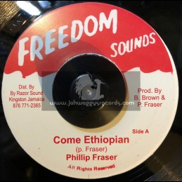 """Freedom Sounds-7""""-Come Ethiopian / Philip Fraser"""