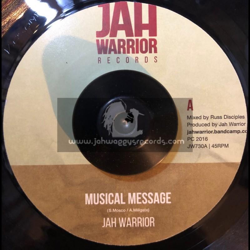 "Jah Warrior Records-7""-Musical Message / Jah Warrior"