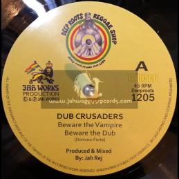 "Deep Roots Reggae Shop-12""-Beware The Vampire / Dub Crusaders - Jah Works"