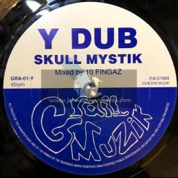 "Grail Dub-7""-Y Dub / Skull Mystik + Z Dub / Skull Mystik - 1999"