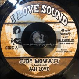 "I Love Sound-7""-Jah Love / Judy Mowatt"