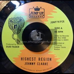 "Jump Up Records-7""-Highest Region / Johnny Clarke + Highest Version / Flying Vipers"