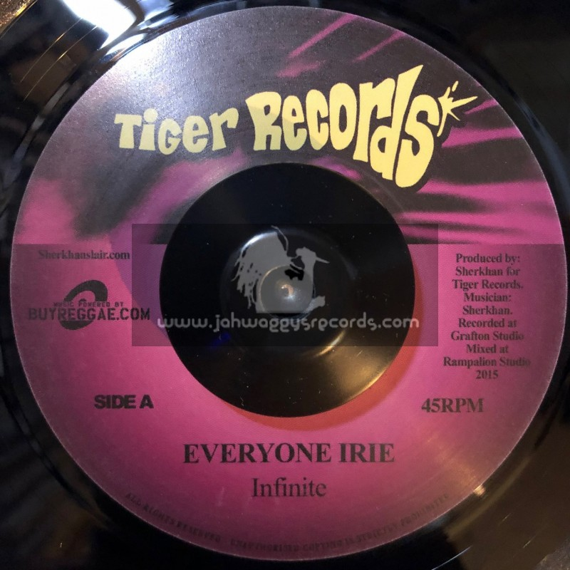 """Tiger Records-7""""-Everyone Irie / Infinate"""