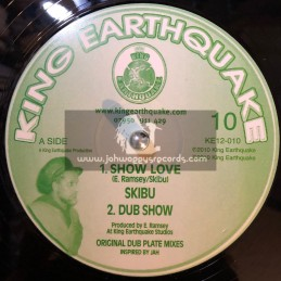 "KING EARTHQUAKE-12""-SHOW LOVE + GET READY / SKIBU"