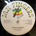 "Jah Fingers Music-12""-I Am On A Mission / Colour Red + Natty Dreadlocks / Colour Red"