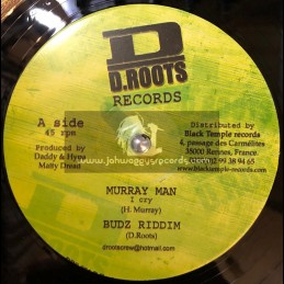 "D.ROOTS RECORDS-12""-I CRY / MURRAY MAN + POWER OF MUSIC / MESSALIE"