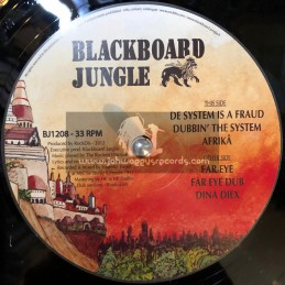 "Blackboard Jungle-12""-Far Eye / The Rockers Disciples & Daba Makourejah"