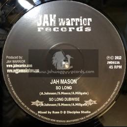"Jah Warrior Records-12""-So Long / Jah Mason + Jungle Warrior / Jah Warrior"