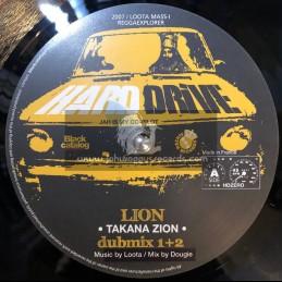 "Hard Drive-10""-Lion / Takana + Alpha Dub / Loota (Mass-I)"