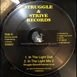 "Struggle And Strive Records-12""-In The Light Dub + ST Annes Yard Dub / Uprising Sounds"