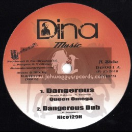 """Dina Music-10""""-Dangerous / Queen Omega + Upon The Mountain / Zareb + Far East Melodica"""