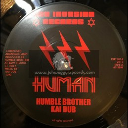 "Dub Invasion Records-7""-Human / Humble Brother And Kai Dub"