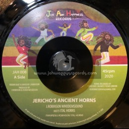 """Joy And Happiness Records-7""""-Jericho's Ancient Horns / J.Robinson WhoDemSound"""