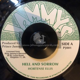 "Jammys-7""-Hell And Sorrow / Hortense Ellis"