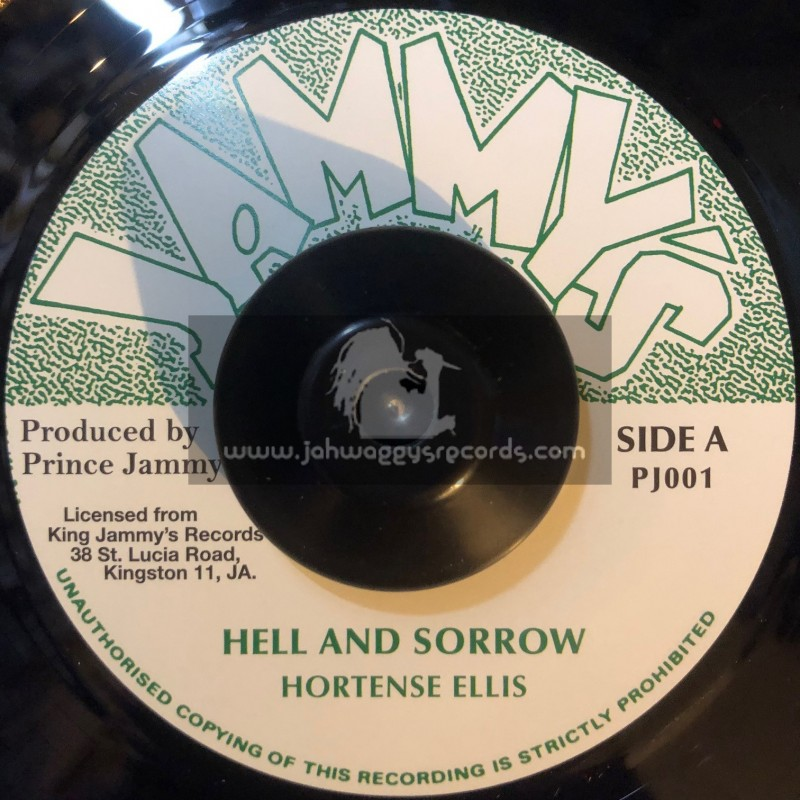"Jammys-7""-Hell And Sorrow / Hortense Ellis"