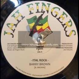 "Jah Fingers-7""-Ital Rock / Barry Brown"