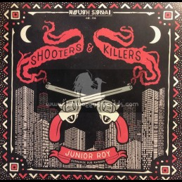 "Rough Signal Records-12""-Shooters And Killers / Junior Roy Alongside Dub Kazman"