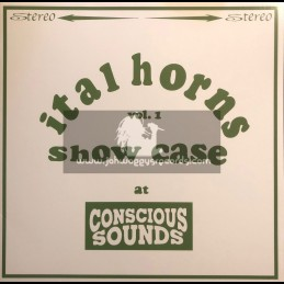 Conscious Sounds-Lp-Ital Horns Showcase At Conscious Sounds Vol.1