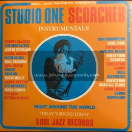 Soul Jazz Records-Tripple-Lp-Studio One Scorcher Instrumentals / Various Artist