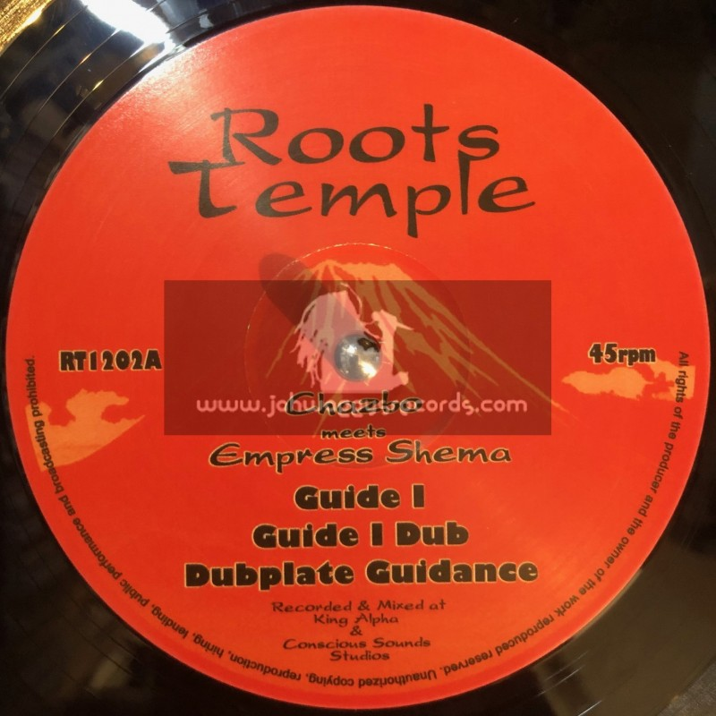 """ROOTS TEMPLE-12""""-GUIDE I + HOLY ZION / CHAZBO MEETS EMPRESS SHEMA"""