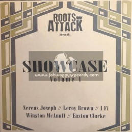 Roots Attack-Lp-Showcase Vol 1 / Nereus Joseph, Leroy Brown, I Fi, Winston McAnuff And Easton Clarke