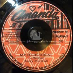 """Amanda-7""""-My Foreparent / Larry Marshall"""