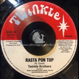 "Twinkle Music-7""-Rasta Pon Top / The Twinkle Brothers"