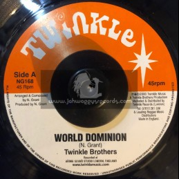 """TWINKLE BROTHERS 7""""-WORLD DOMINION / TWINKLE BROTHERS"""