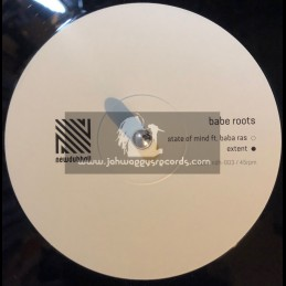 """Newdubhall-10""""-State Of Mind / Babe Roots Feat. Baba Ras + Extent / Babe Roots Feat. Baba Ras"""